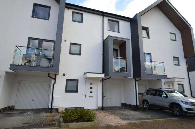 3 Bedrooms Terraced House for sale in Orchid Way, Beechfield View, Torquay, Devon