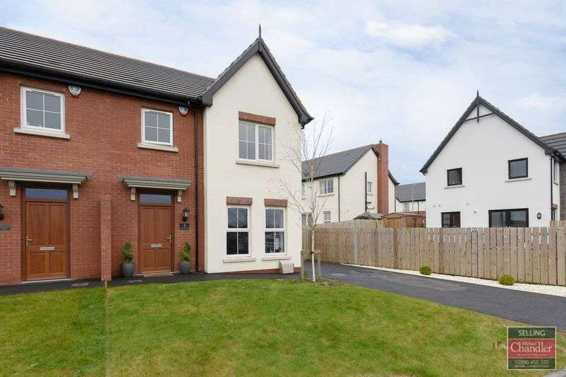 3 Bedrooms Semi Detached House for sale in 4 Coopers Mill Lane, Dundonald, BT16 1YQ