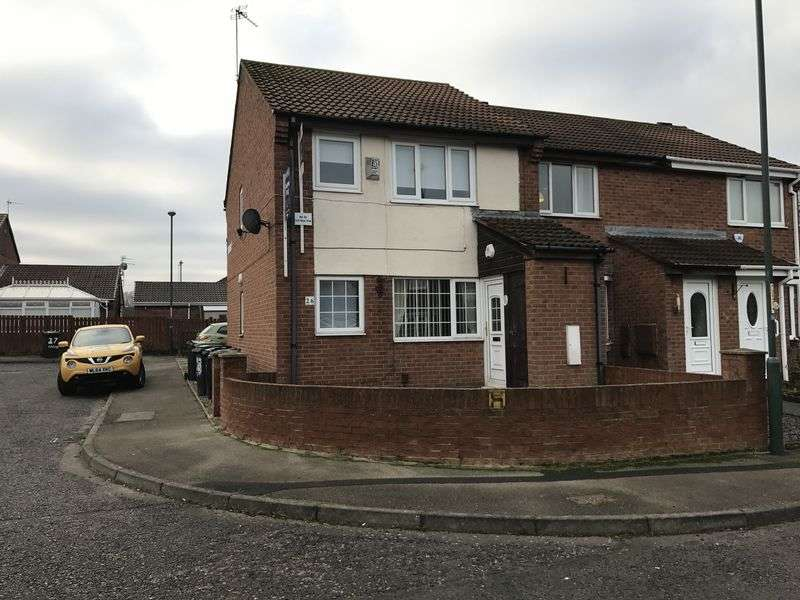 1 Bedroom Flat for sale in 26 Anson Close, South Shields