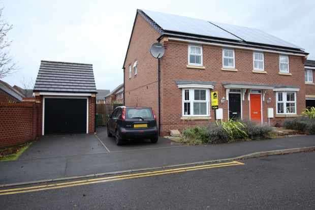 3 Bedrooms Semi Detached House for sale in Nashville Drive, Warrington, Cheshire, WA5 8DZ