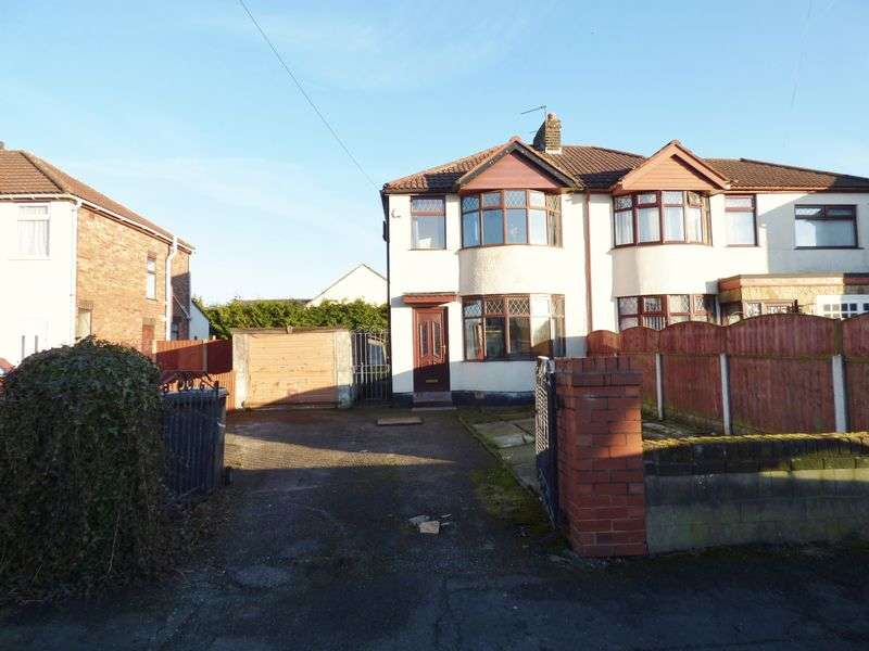 2 Bedrooms Semi Detached House for sale in Larch Avenue, Penketh, Warrington