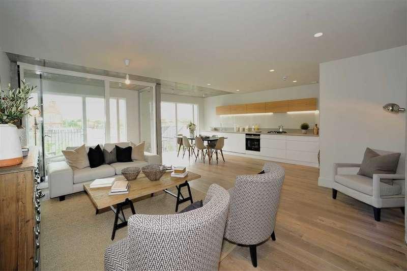 2 Bedrooms Duplex Flat for sale in Jeddo Road, Shepherd's Bush