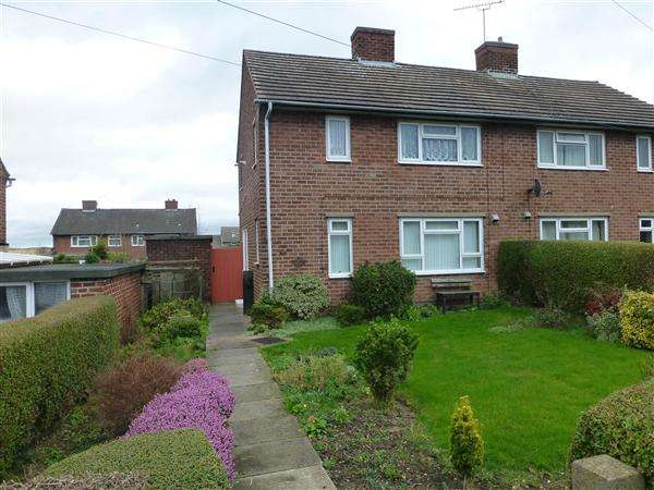 2 Bedrooms Semi Detached House for sale in Rotherwood Road, Killamarsh, Sheffield