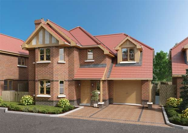 4 Bedrooms Detached House for sale in Mayfields, SINDLESHAM, Berkshire