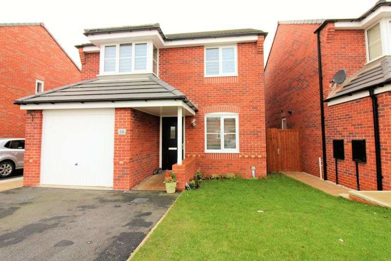 3 Bedrooms Detached House for sale in Whitley Drive, Jasmin Parc, Broughton, Chester