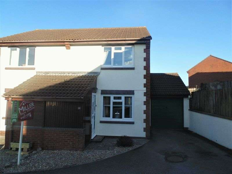2 Bedrooms Semi Detached House for sale in Okehampton