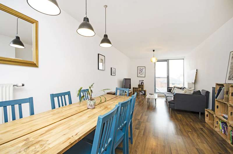 3 Bedrooms Flat for sale in Hackney Grove, London Fields, E8