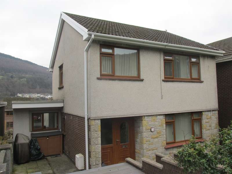 3 Bedrooms Detached House for sale in Hillside Close, Aberfan, MERTHYR TYDFIL