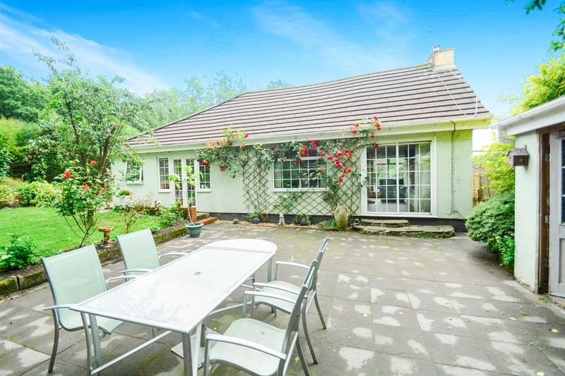 3 Bedrooms Detached Bungalow for sale in Church Lane, Nantgarw, Cardiff