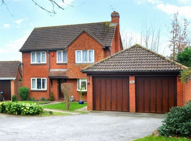 4 Bedrooms Detached House for sale in Honeylands Way, EXETER, Devon