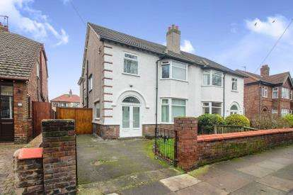 5 Bedrooms Semi Detached House for sale in De Villiers Avenue, Crosby, Liverpool, Merseyside, L23