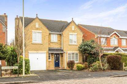 4 Bedrooms Detached House for sale in Germander Way, Bicester, Oxfordshire, Oxon