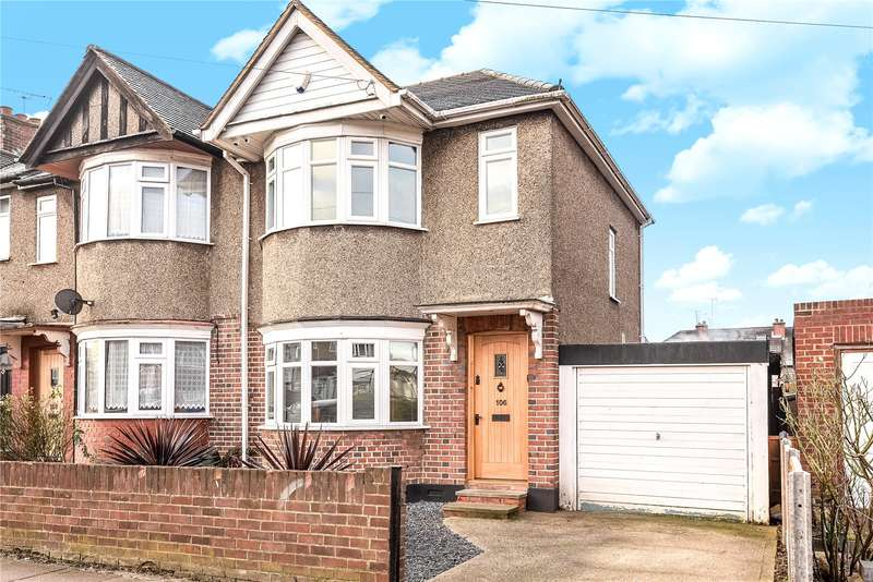 3 Bedrooms End Of Terrace House for sale in Dulverton Road, Ruislip Manor, Middlesex, HA4