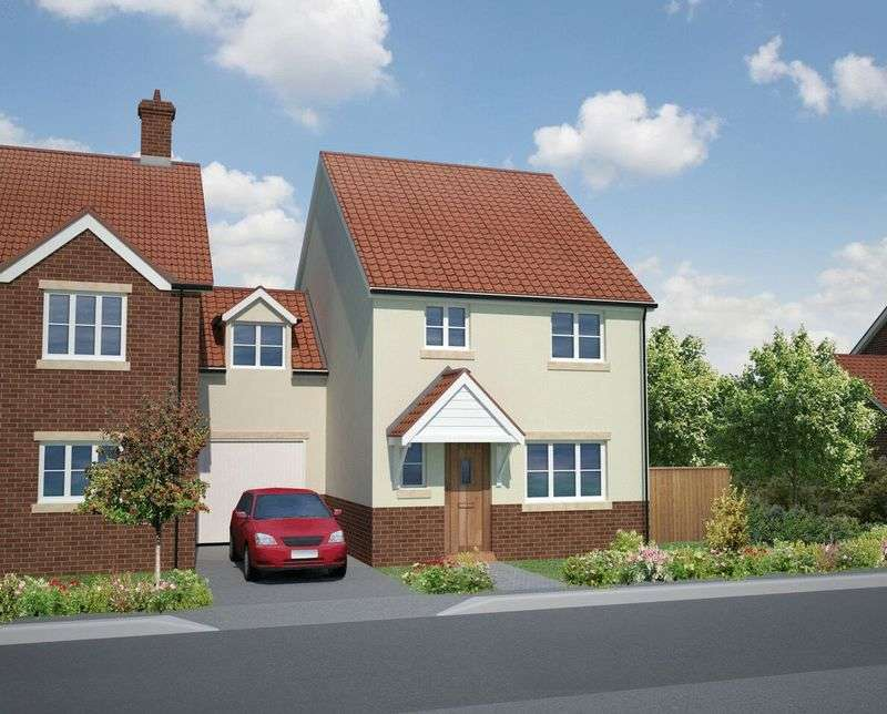 4 Bedrooms Semi Detached House for sale in Haygrove Park, Durleigh, Bridgwater