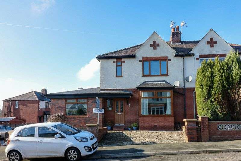3 Bedrooms Semi Detached House for sale in Brentford Avenue, Bolton