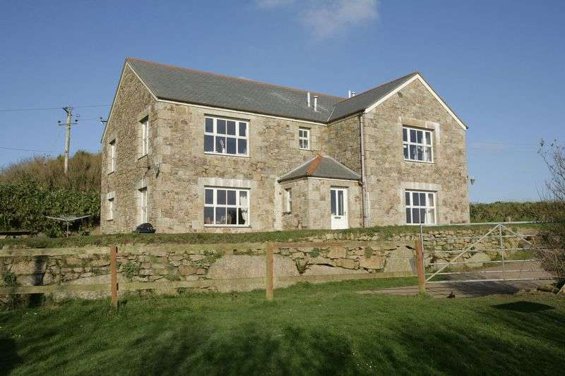 4 Bedrooms Detached House for sale in Newmill, Near Penzance