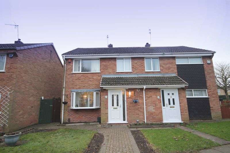 3 Bedrooms Semi Detached House for sale in TORRIDON CLOSE, SINFIN