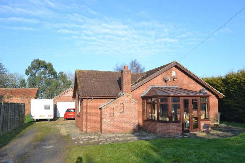 3 Bedrooms Detached Bungalow for sale in Bungalow at Poplar Farm, Main Road, Louth