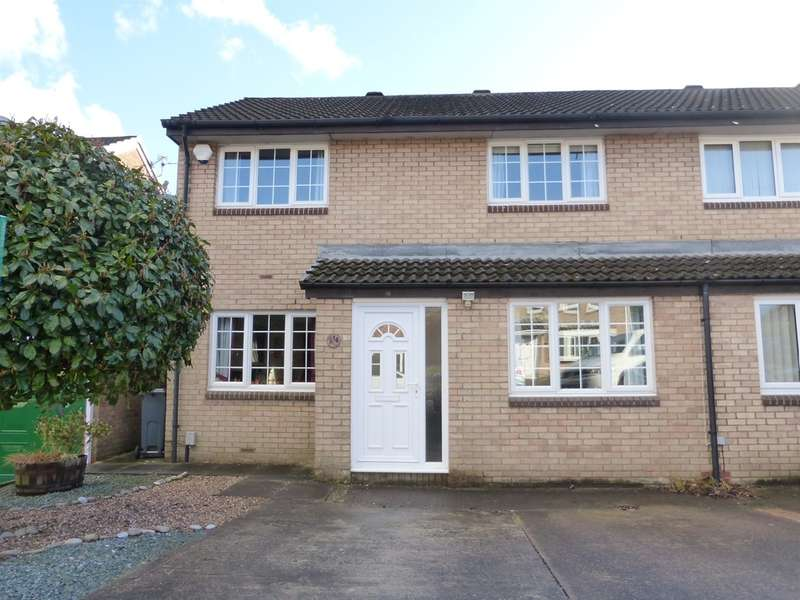 3 Bedrooms Semi Detached House for sale in Kingfisher Close, St. Mellons, Cardiff