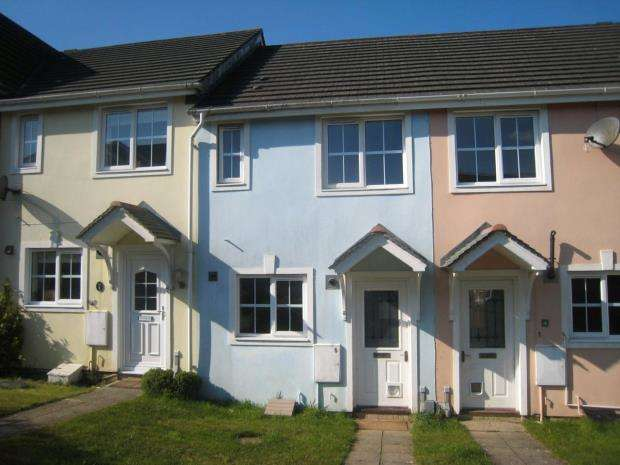 2 Bedrooms Terraced House for sale in Celandine Gardens, Plympton, Plymouth, Devon