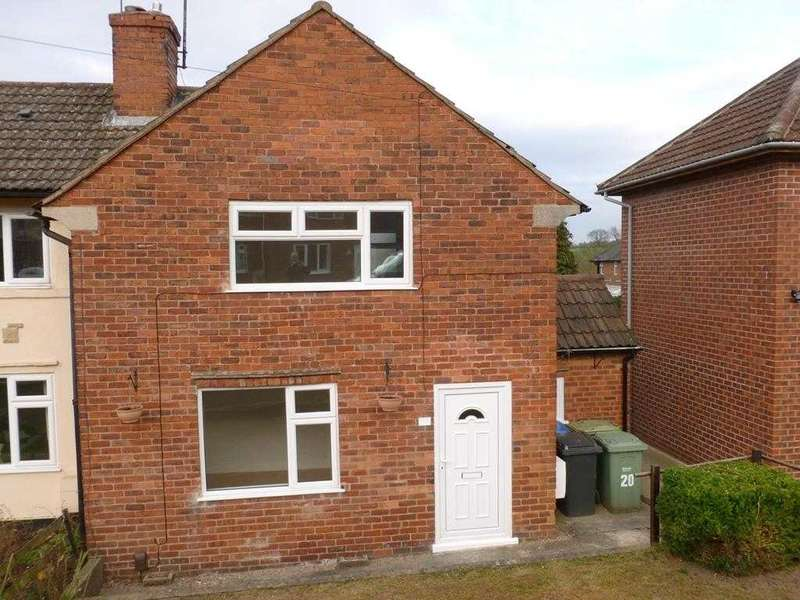 2 Bedrooms Semi Detached House for sale in Laburnum Street, Chesterfield