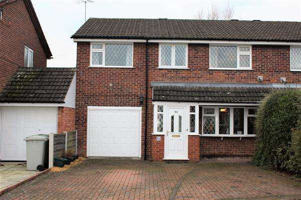 4 Bedrooms Semi Detached House for sale in Hathaway Drive, Macclesfield