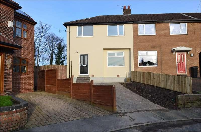 3 Bedrooms Semi Detached House for sale in Hawthorne Grove, Bredbury, Stockport SK6 2PJ