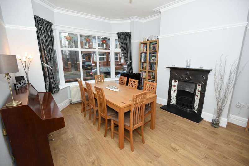 4 Bedrooms Semi Detached House for sale in Wellfield Road, Offerton, Stockport, SK2 6AS