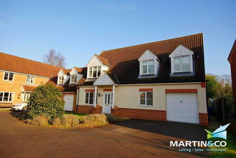 4 Bedrooms Detached House for sale in Fern Drive, Middle Rasen, Market Rasen
