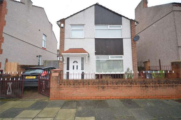3 Bedrooms Detached House for sale in Shakespeare Avenue, Rock Ferry, Merseyside