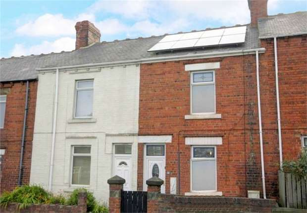 2 Bedrooms Terraced House for sale in Gordon Terrace, Stanley, Durham