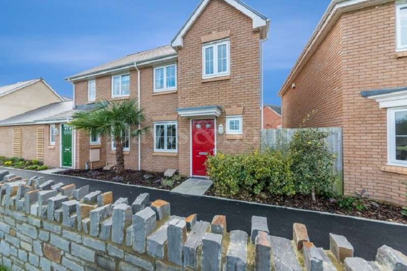 3 Bedrooms Semi Detached House for sale in Heol Senni, Foxgloves Meadows, Bettws. NP20 7GB
