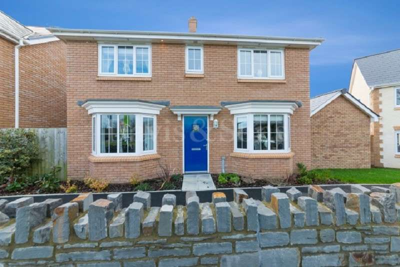 4 Bedrooms Detached House for sale in Heol Senni, Foxgloves Meadows, Bettws. NP20 7GH