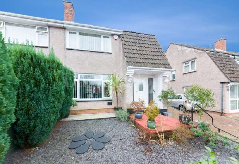 3 Bedrooms Semi Detached House for sale in Alanbrooke Avenue, Off Malpas Road, Newport. NP20 6QJ