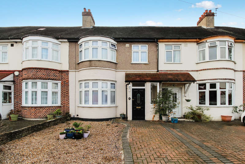 3 Bedrooms Terraced House for sale in Belmont Avenue, New Malden