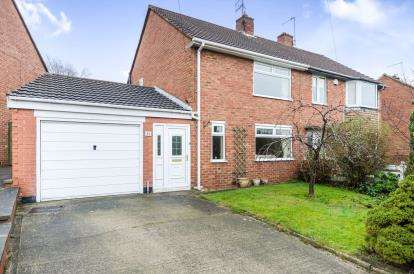2 Bedrooms Semi Detached House for sale in Cordwell Avenue, Newbold, Chesterfield, Derbyshire