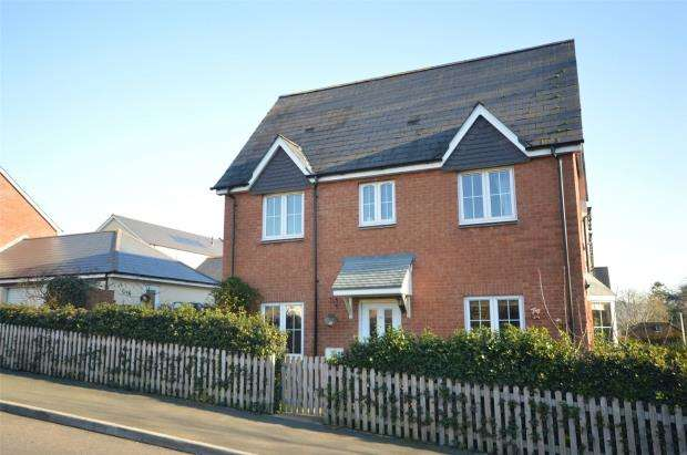 3 Bedrooms End Of Terrace House for sale in Betjeman Close, Sidmouth, Devon