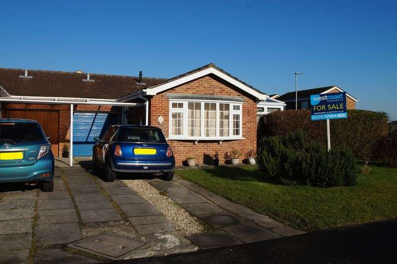 2 Bedrooms Semi Detached Bungalow for sale in Shelley Drive, Burnham-On-Sea