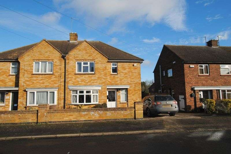 3 Bedrooms Semi Detached House for sale in Hillary Road, Rushden