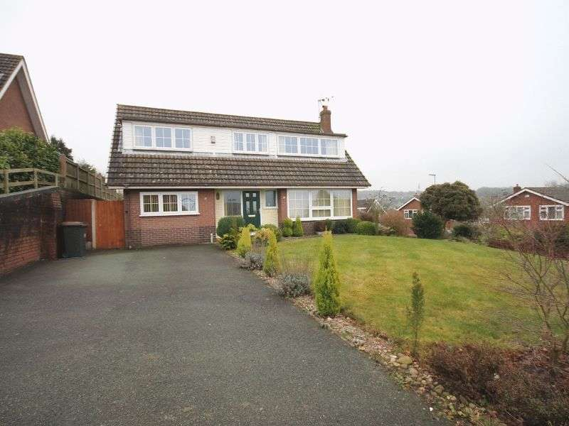 3 Bedrooms Detached House for sale in St Marys Road, Loggerheads, Market Drayton