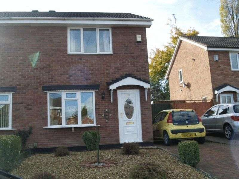 2 Bedrooms Semi Detached House for sale in Walker Crescent, St Georges, Telford