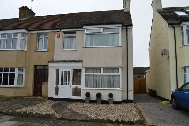 3 Bedrooms End Of Terrace House for sale in Keith Way, Hornchurch