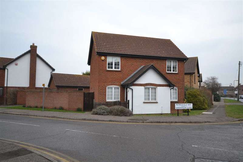 3 Bedrooms Detached House for sale in Petresfield Way, Brentwood