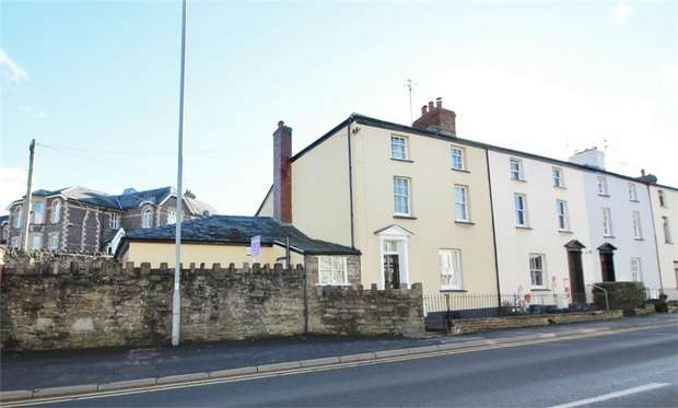 4 Bedrooms End Of Terrace House for sale in Merthyr Road, ABERGAVENNY, Monmouthshire