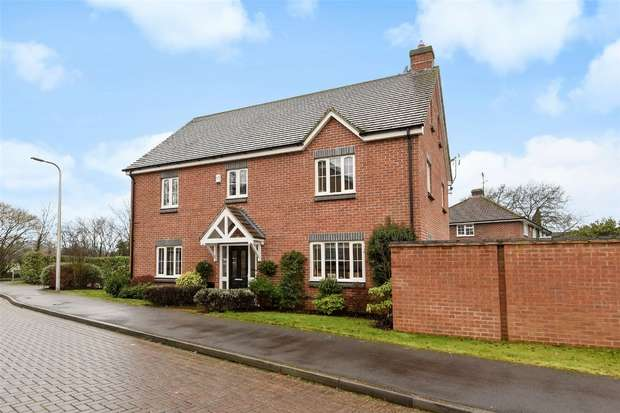 5 Bedrooms Detached House for sale in Arbor Close, WINNERSH, Berkshire