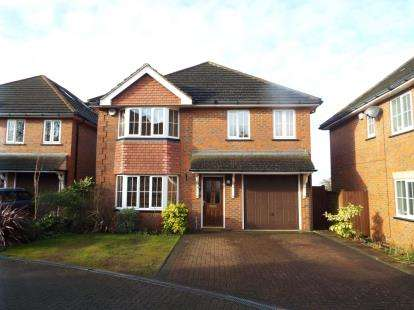 5 Bedrooms Detached House for sale in Hatherley Chase, Luton, Bedfordshire