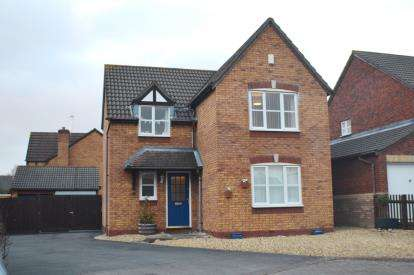 4 Bedrooms Detached House for sale in Welland Road, Quedgeley, Gloucester, Gloucestershire