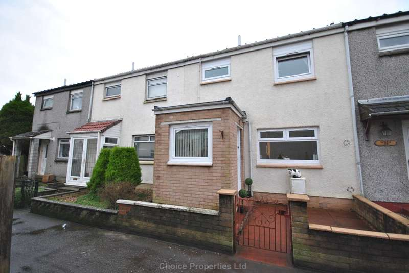 3 Bedrooms Terraced House for sale in Ritchie Court, Kilmarnock, KA3 7QF