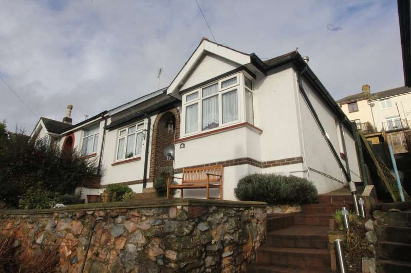 2 Bedrooms Semi Detached Bungalow for sale in Colley End Road, Paignton