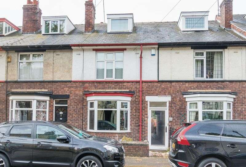 3 Bedrooms Terraced House for rent in Hawksley Avenue, Hillsborough - Large Terraced Property